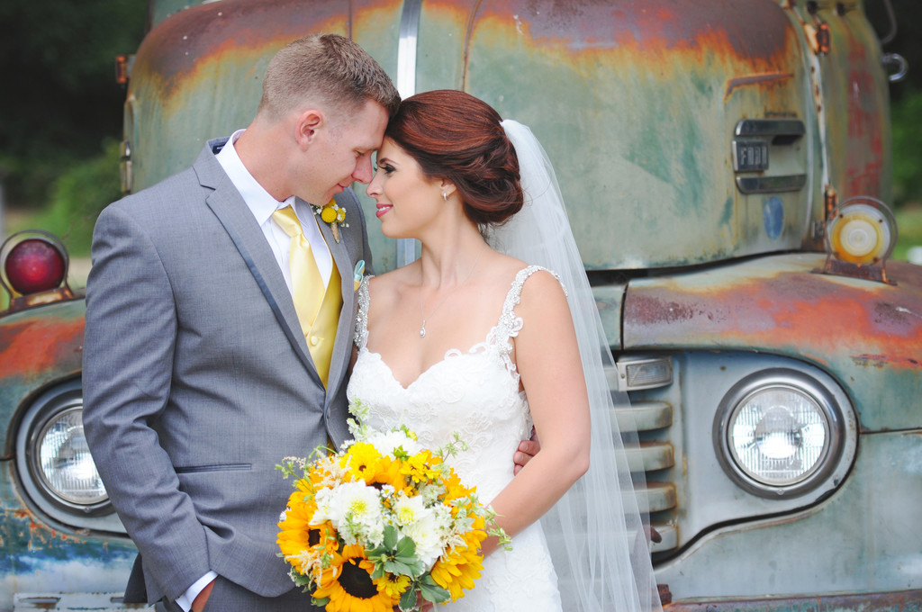 Vintage Truck Wedding Photographer Sacramento
