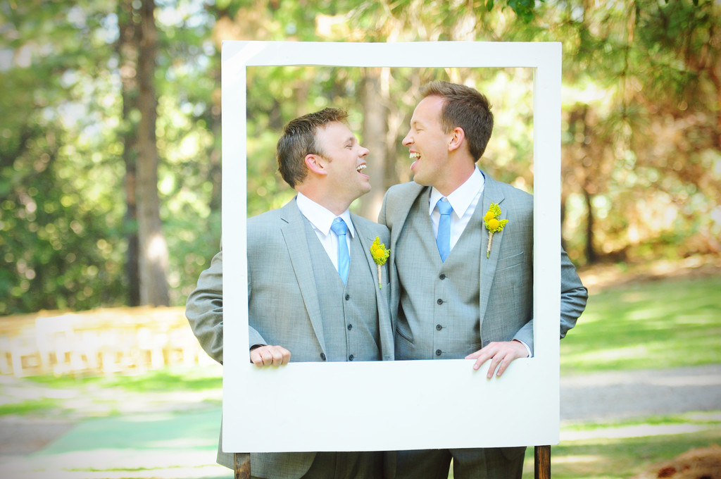Grooms at Forest Hill Lodge wedding photographer