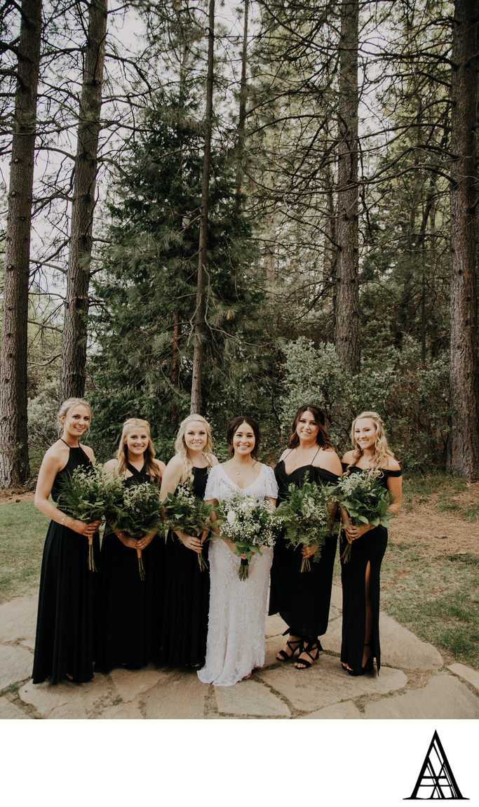 Forest Hill Lodge Bridesmaids Wedding Photographer