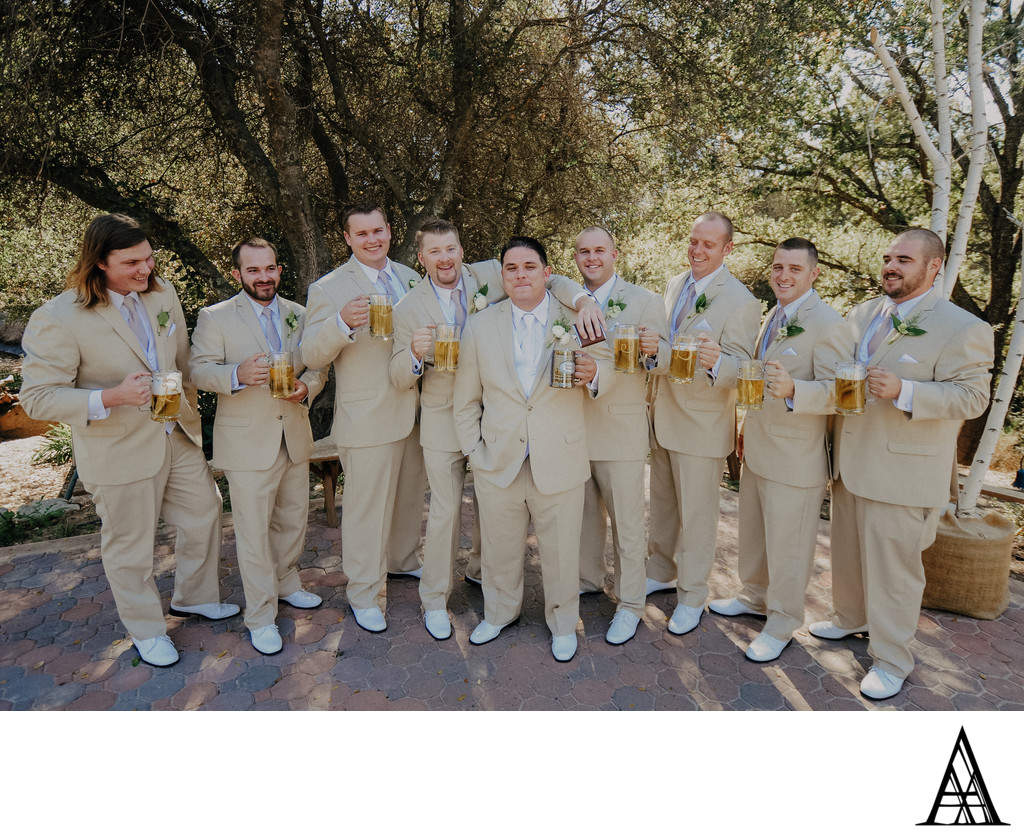 Gold Hill Gardens Wedding Photographer New Castle
