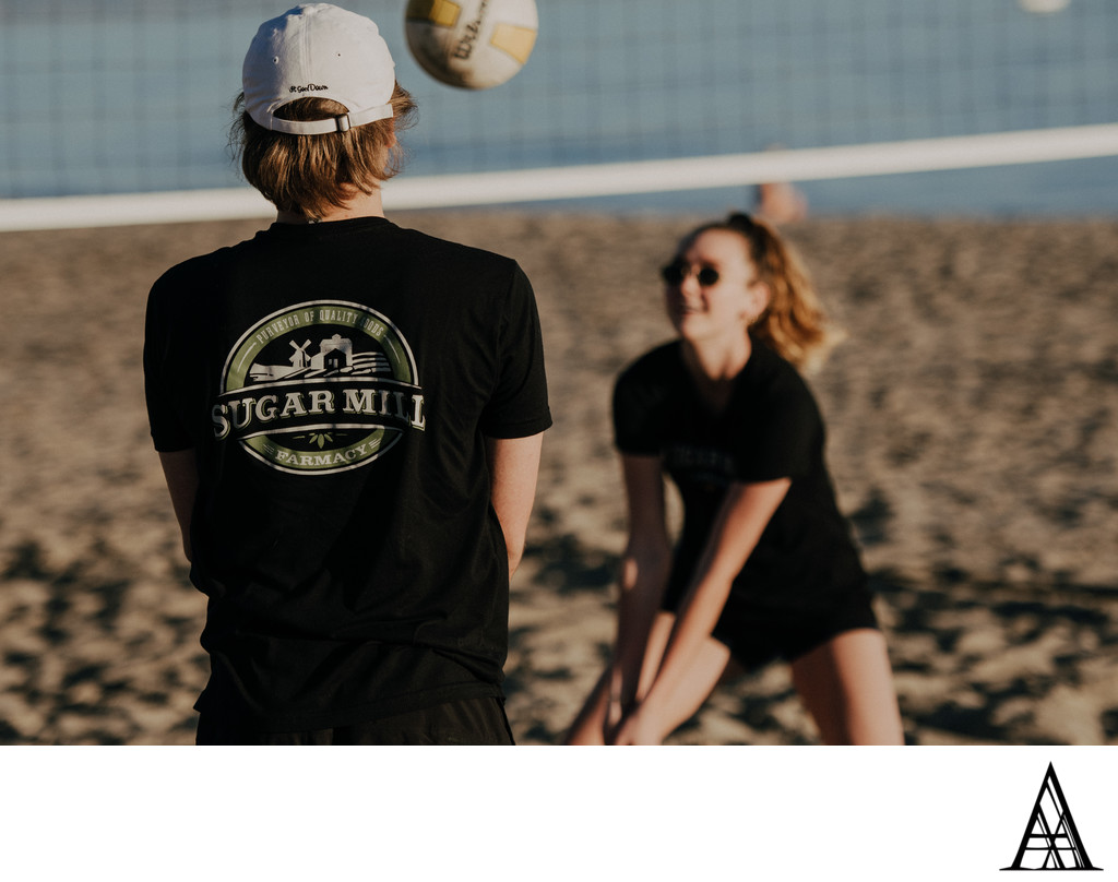 Beach Volleyball Active Lifestyle Photographer CBD