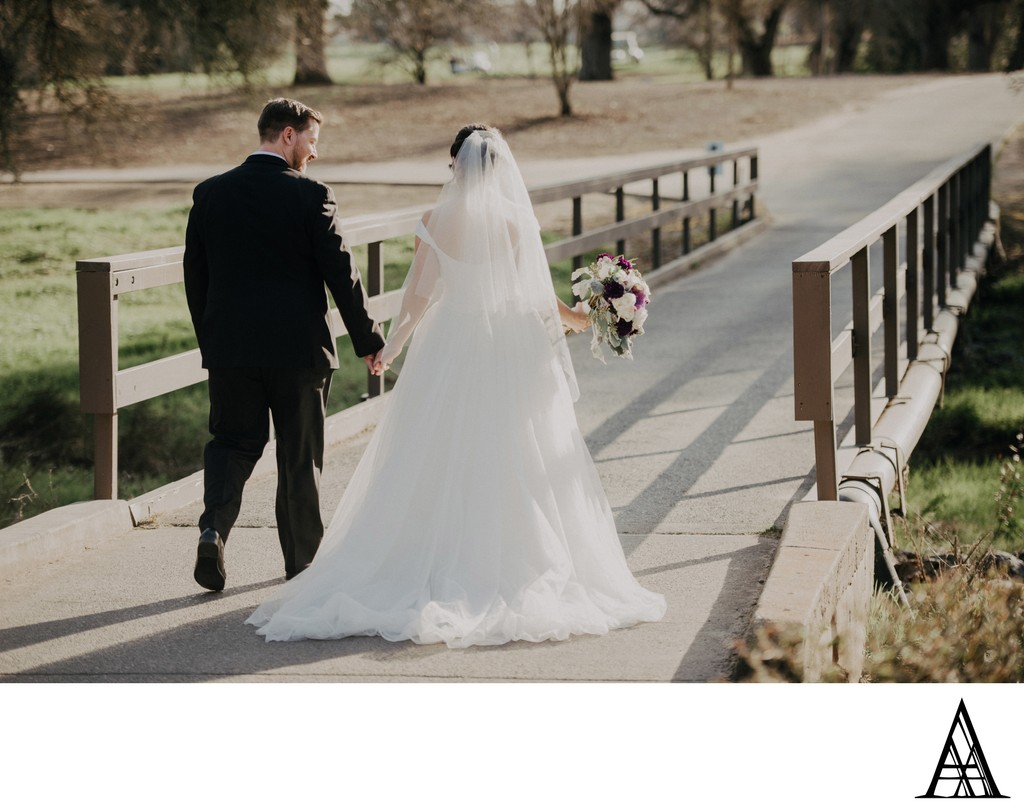 Golf Course Wedding Photographer Sacramento Roseville