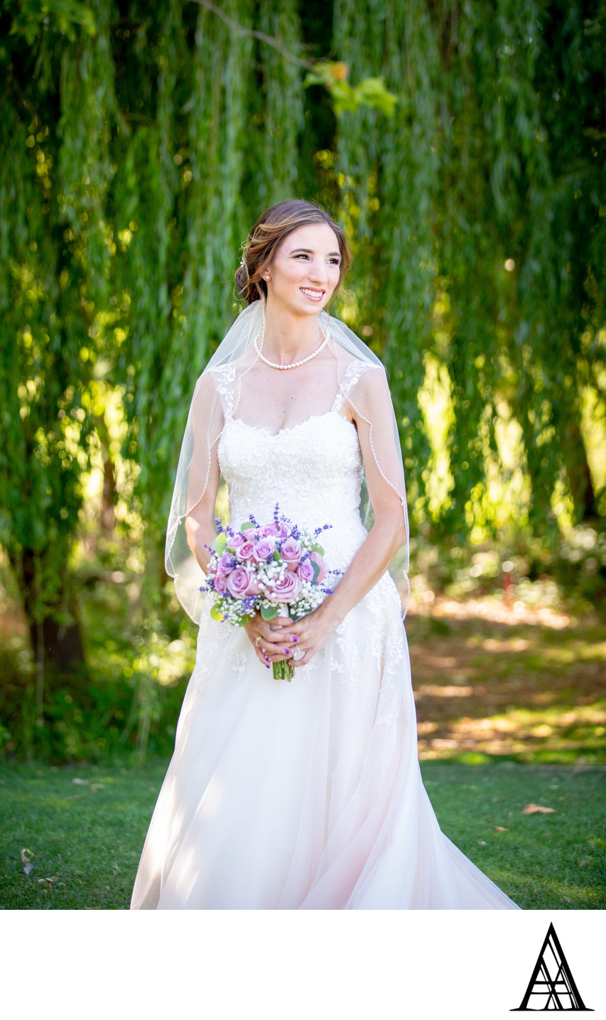 Bride in Rocklin from Sacramento Wedding Photographer