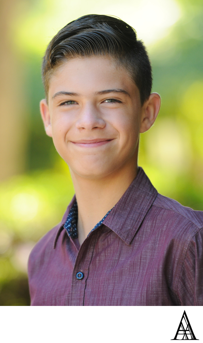 Teen Portrait Photographer Sacramento Headshots