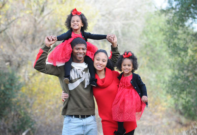 Sacramento Family Photographer Twins Holiday