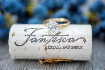 Fantesca Winery Engagement Photographer Sacramento