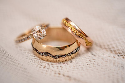 Luxury Wedding Photographer Sacramento Rings Details