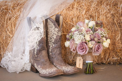 Country Wedding Photographer Boots Blooms Sacramento