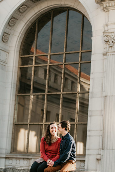 Sacramento Engagement Photographer at UC Berkeley