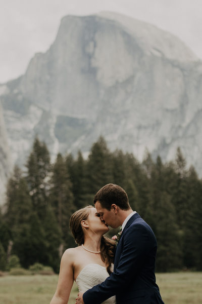 Classical Wedding Photographer Sacramento Half Dome
