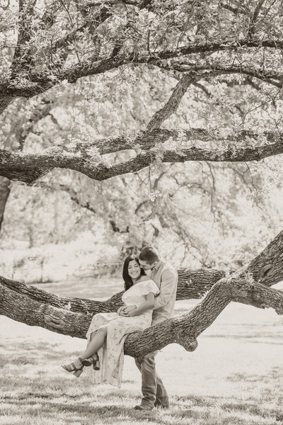 Gold Hill Gardens Engagement Photographer Sacramento