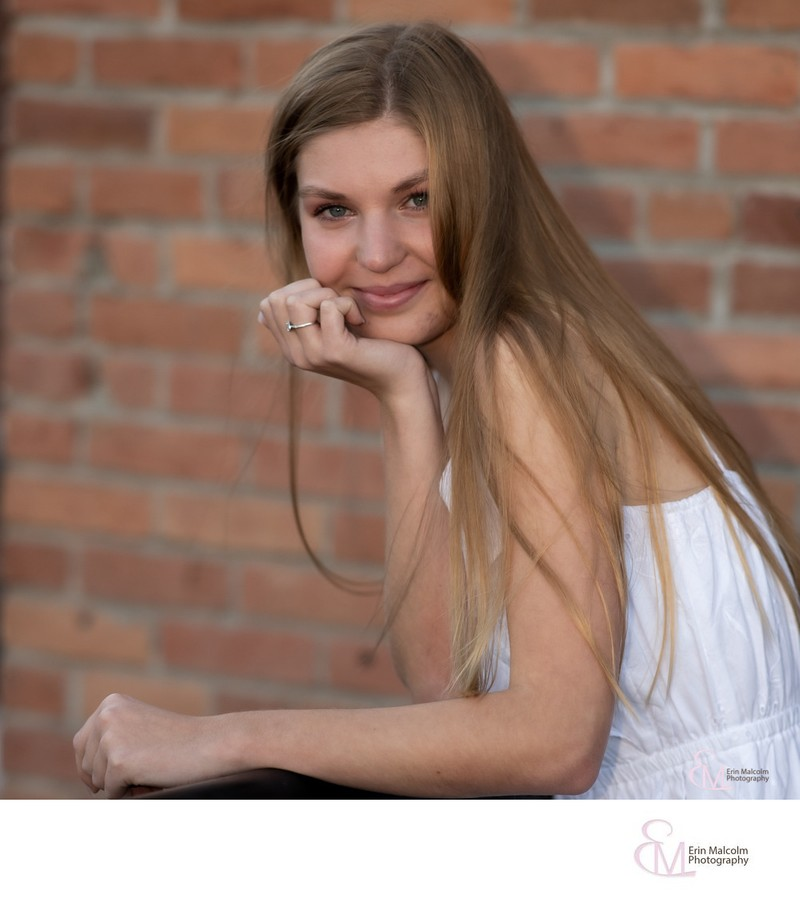 Senior session, Henry's in Saratoga, CP photographer