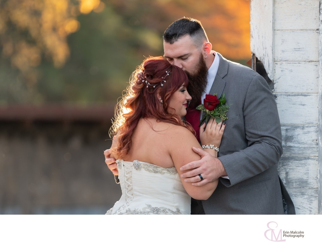Mansion Inn Wedding, Couples Portrait