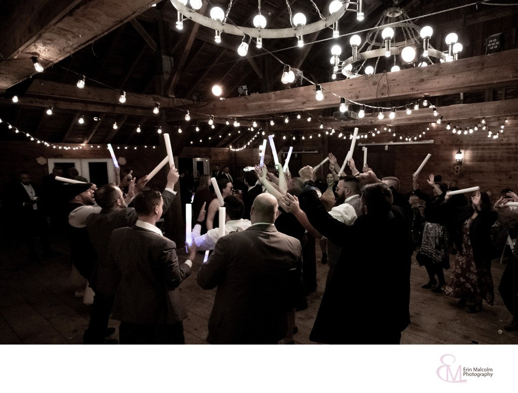 Mansion Inn, Saratoga, Dance Floor Reception Photo