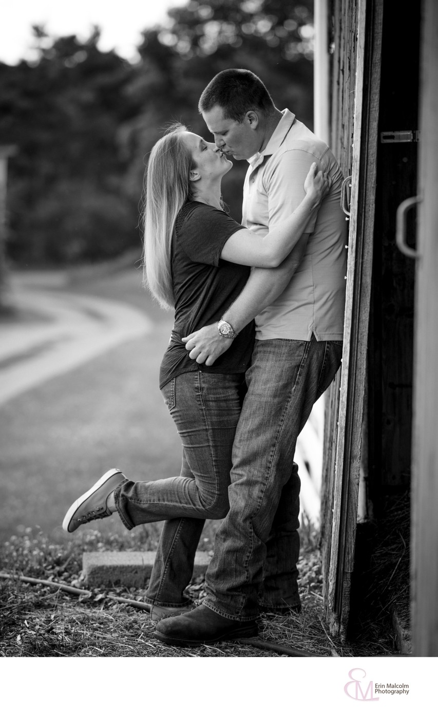 Barn Engagement Session, Stillwater, NY