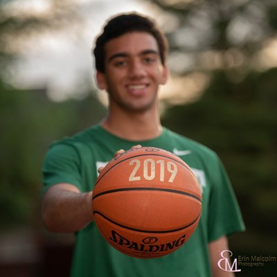 Shen 2019, Basketball, Clifton Park Senior Photography