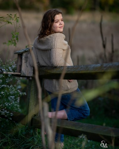 Senior portrait session, Saratoga NY, pumpkin farm