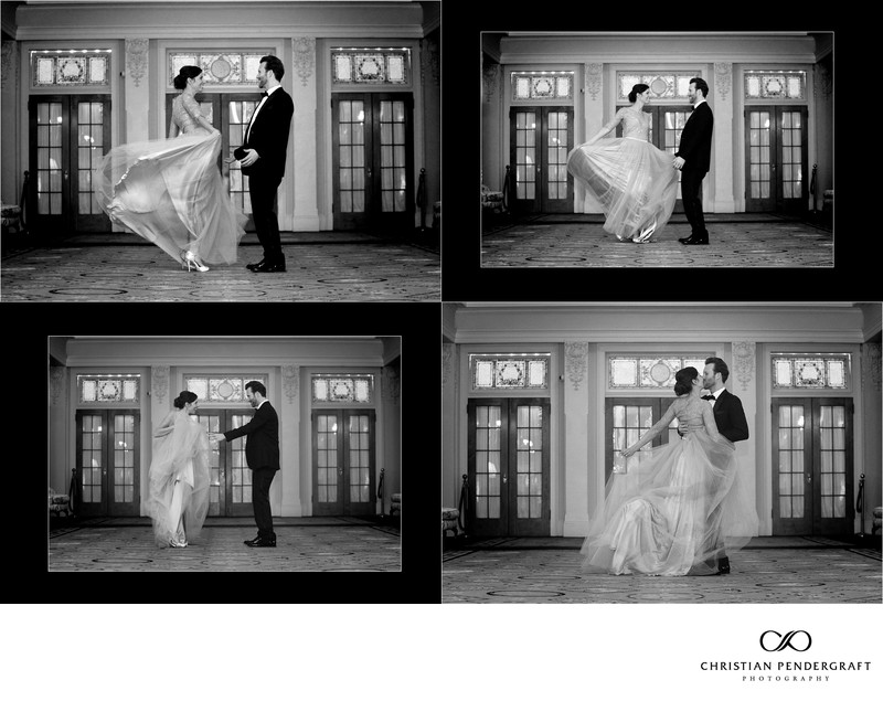 Omni Mt. Washington Hotel Wedding Album Page 33