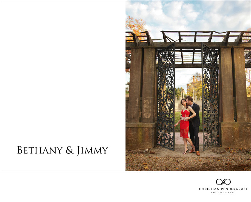 Beth and Jimmy's Engagement Session at The Crane Estate Page 1