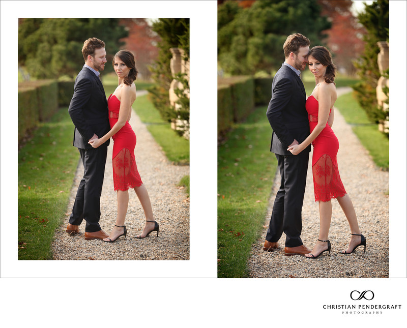Beth and Jimmy's Engagement Session at The Crane Estate Page 3