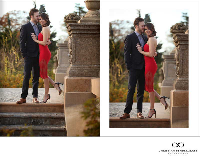 Beth and Jimmy's Engagement Session at The Crane Estate Page 2