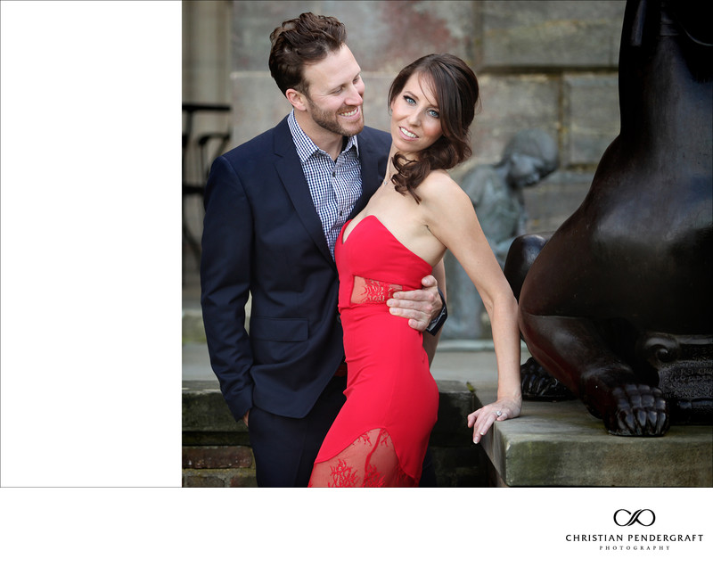 Beth and Jimmy's Engagement Session at The Crane Estate Page 5
