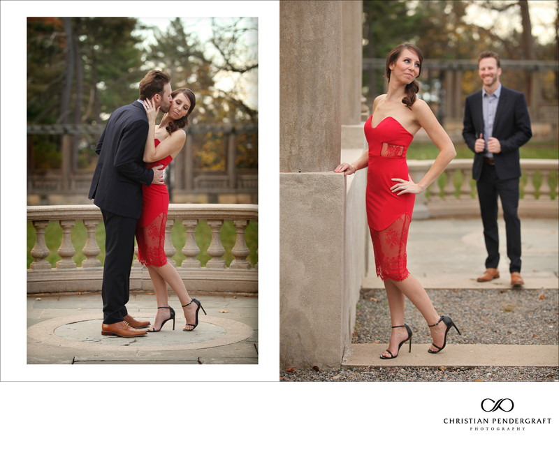 Beth and Jimmy's Engagement Session at The Crane Estate Page 10