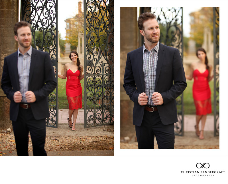 Beth and Jimmy's Engagement Session at The Crane Estate Page 11