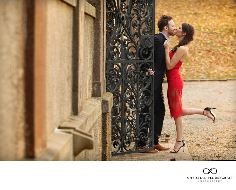 Beth and Jimmy's Engagement Session at The Crane Estate Page 12