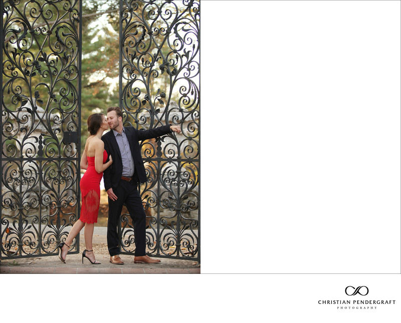 Beth and Jimmy's Engagement Session at The Crane Estate Page 13