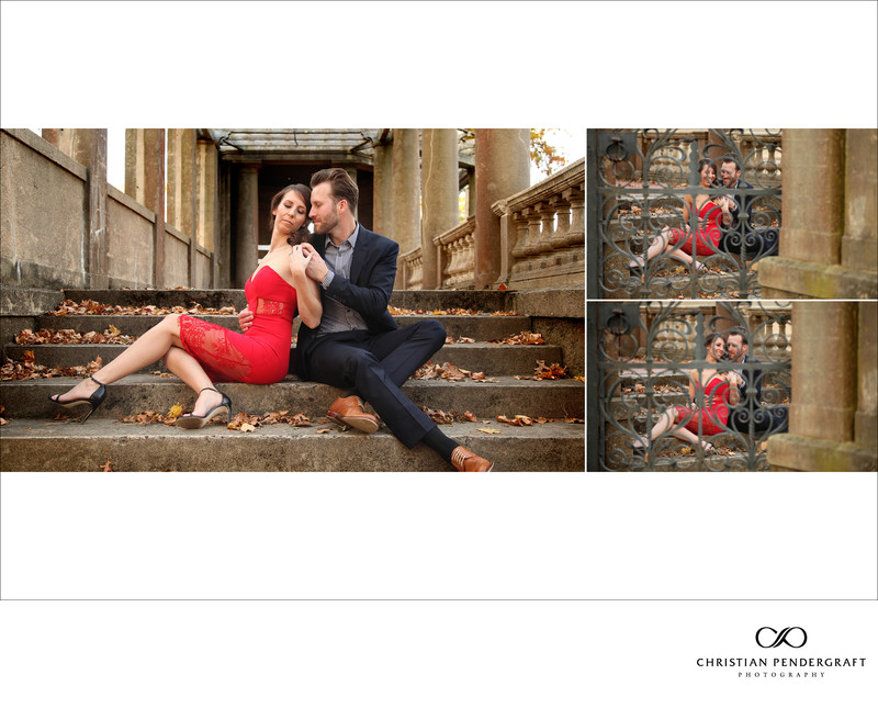 Beth and Jimmy's Engagement Session at The Crane Estate Page 15