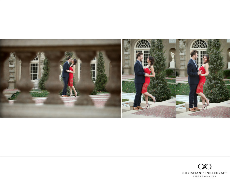 Beth and Jimmy's Engagement Session at The Crane Estate Page 16