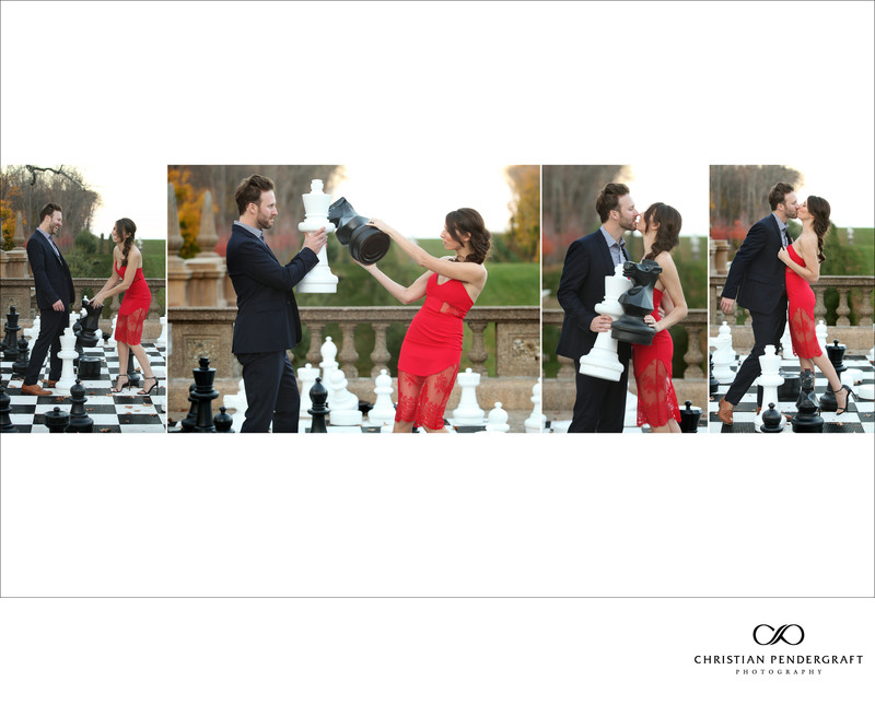 Beth and Jimmy's Engagement Session at The Crane Estate Page 20
