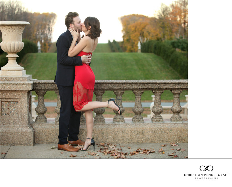 Beth and Jimmy's Engagement Session at The Crane Estate Page 19