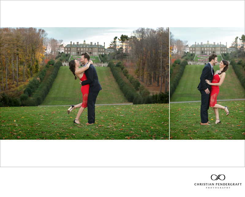 Beth and Jimmy's Engagement Session at The Crane Estate Page 21