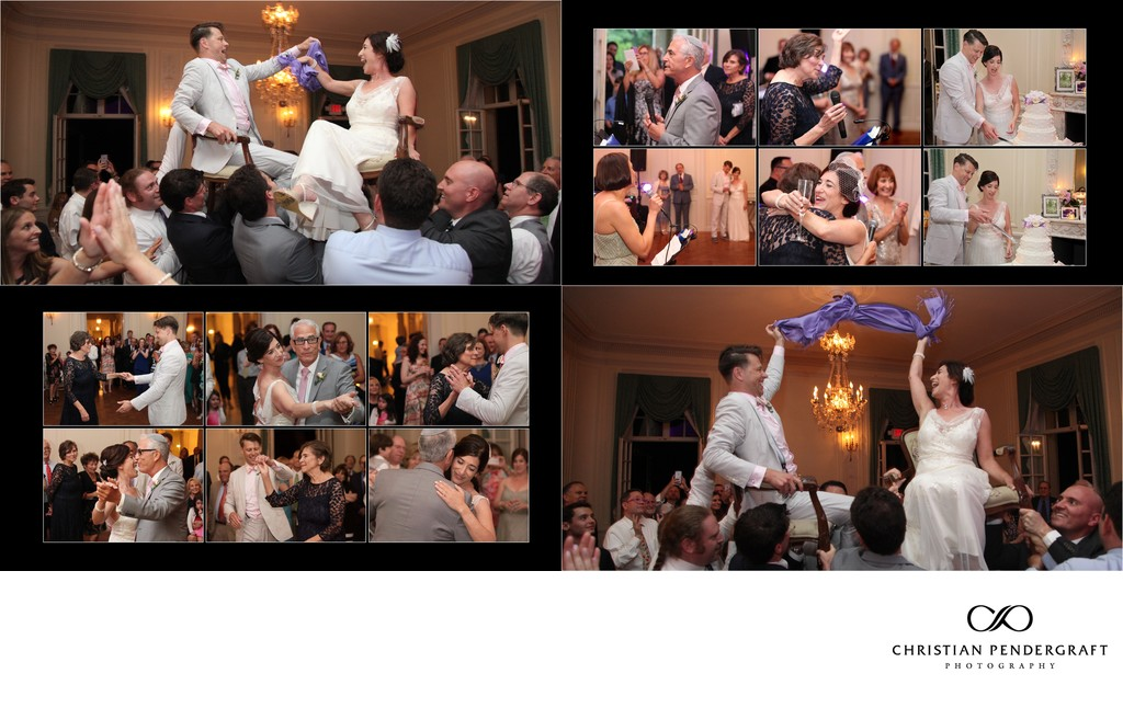 Heather and Greg's Glen Manor House Wedding Album Page 38