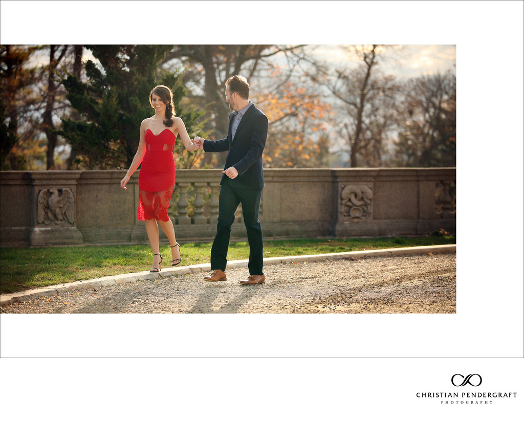 Beth and Jimmy's Engagement Session at The Crane Estate Page 4