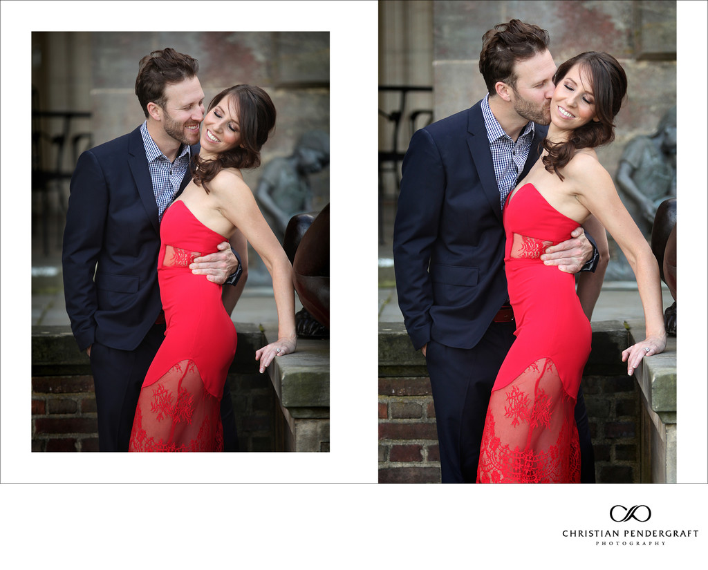 Beth and Jimmy's Engagement Session at The Crane Estate Page 6