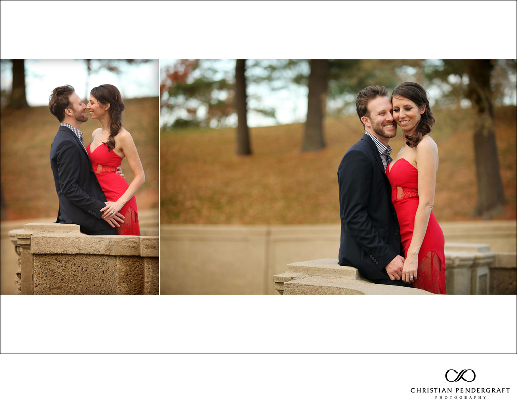 Beth and Jimmy's Engagement Session at The Crane Estate Page 9