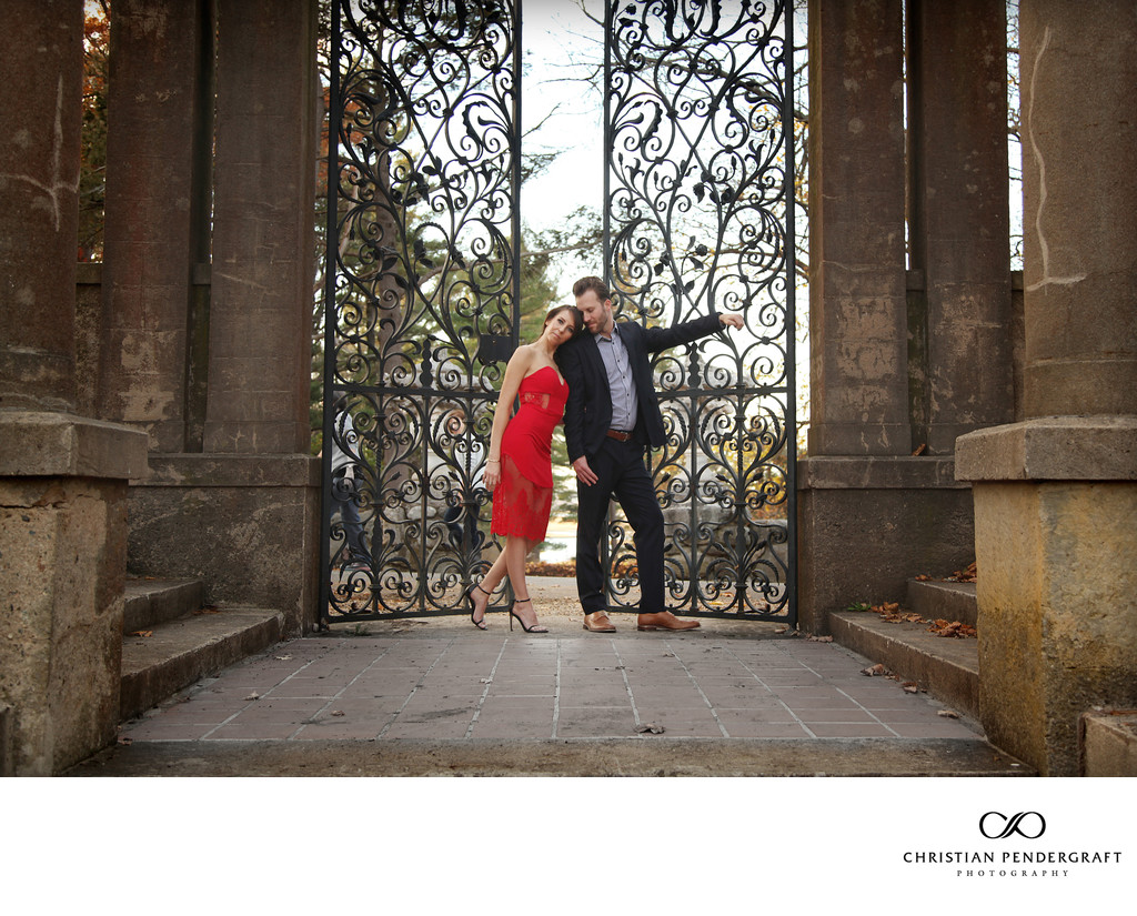Beth and Jimmy's Engagement Session at The Crane Estate Page 14