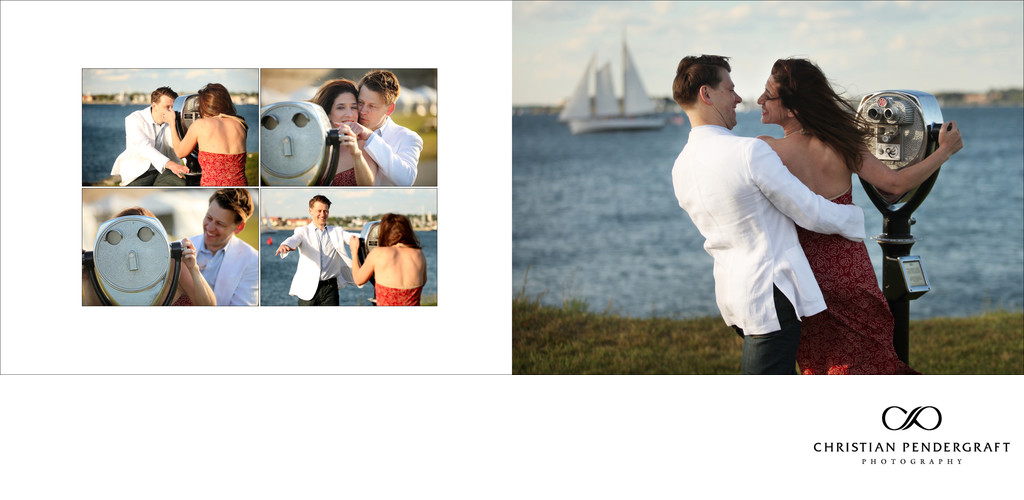 Heather and Greg's Engagement Newport Rhode Island 5