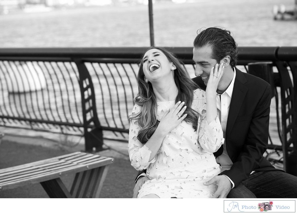 Hoboken, NJ Engagement Photographer