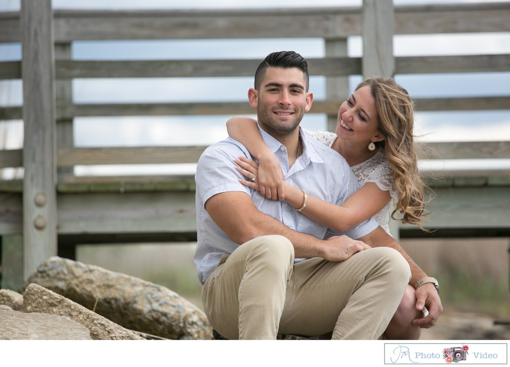 Long Island Beach Engagement Session