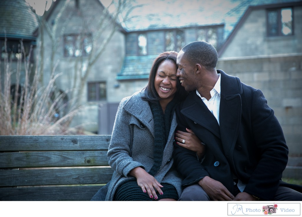 Long Island Winter Engagement Session