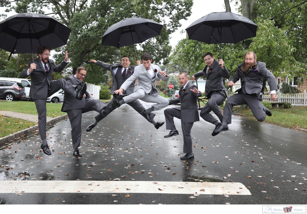 Rainy Day Wedding Photo Ideas - LI Wedding Photographer