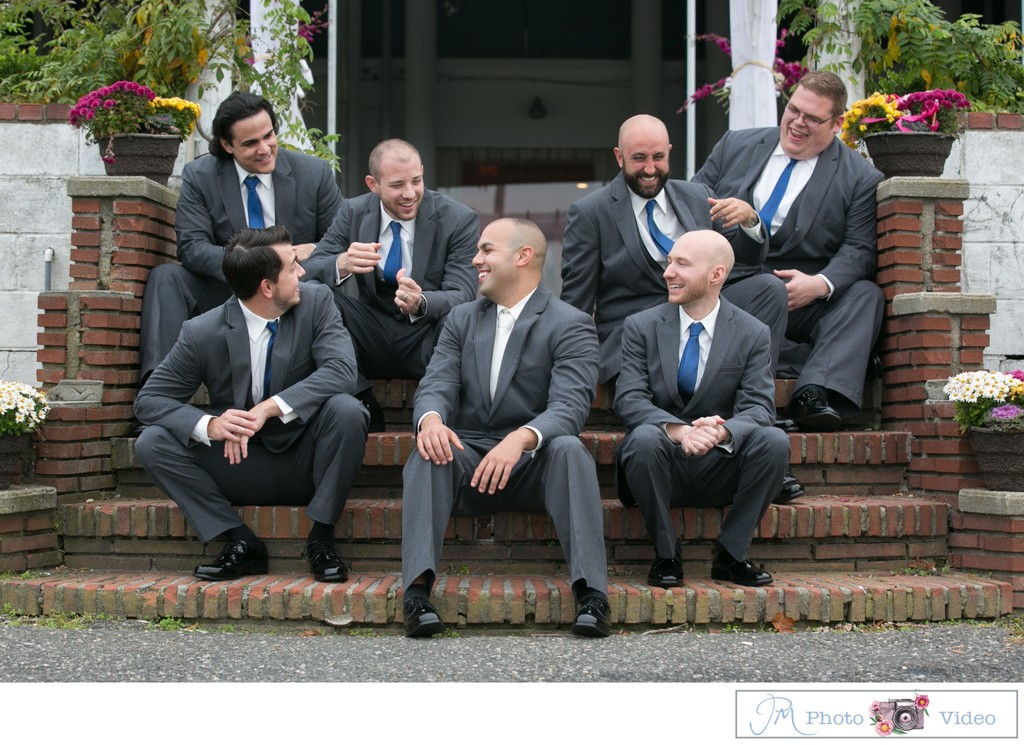 Mansion at Timber Point Wedding - Bridal Party Photos