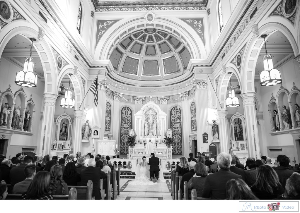 St. Sebastian Church Wedding Photographer