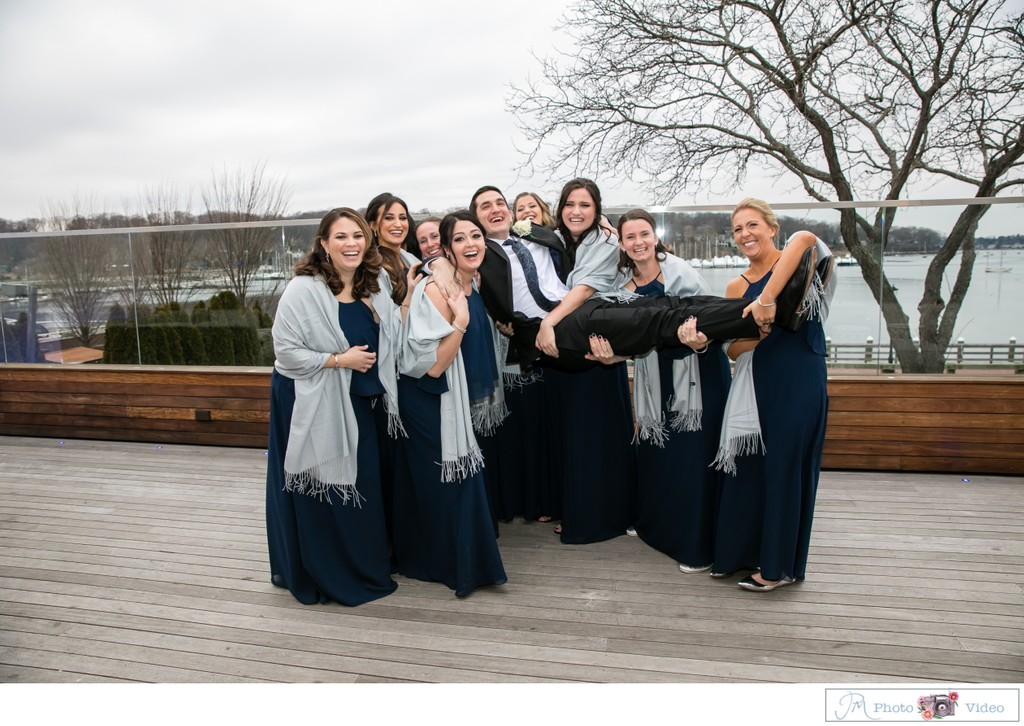 Bridal Party Photos at Harbor Club at Prime