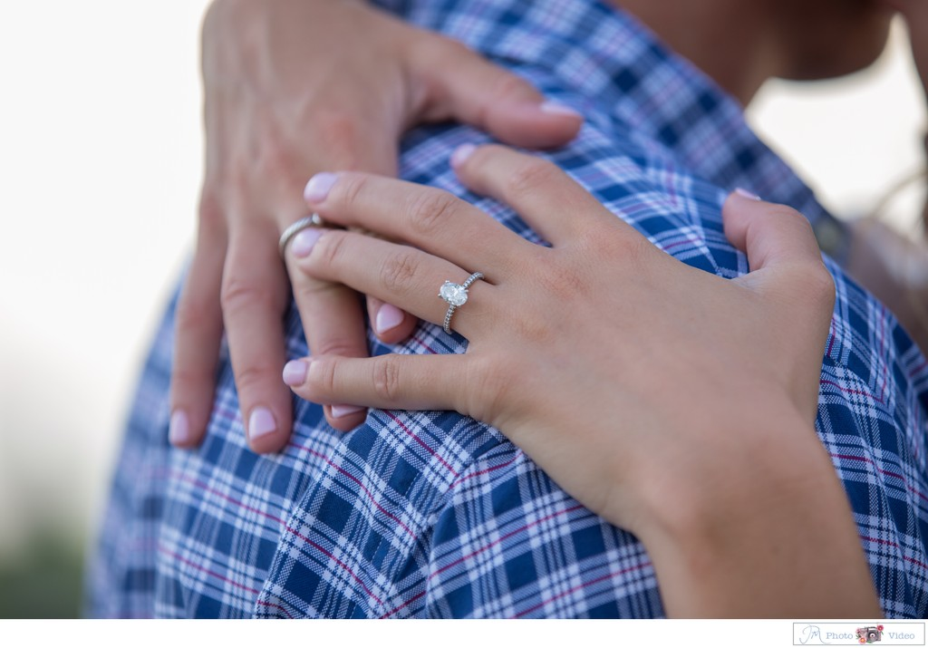 Oval Engagement Ring - Long Island Engagement Photos