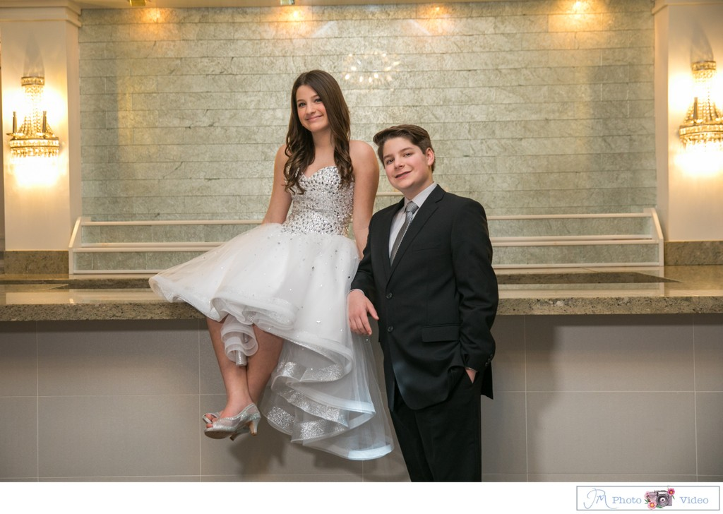 Chateau Braind Carle Place B'Nai Mitzvah photography